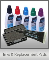 Inks & Replacement Pads