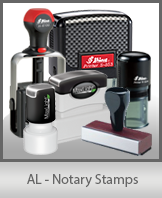 Alabama Notary Stamps