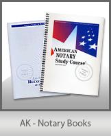 AK - Notary Books
