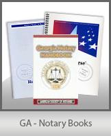 GA - Notary Books
