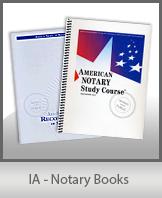 IA - Notary Books
