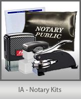 IA - Notary Kits