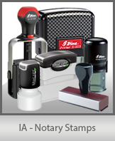 IA - Notary Stamps