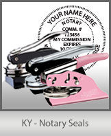 KY - Notary Seals