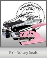 Kentucky Notary Seal