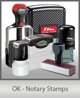 OK - Notary Stamps