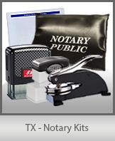 TX - Notary Kits