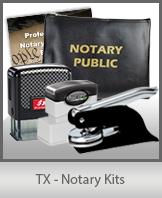 Texas Notary Kits