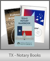 TX - Notary Books