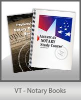 VT - Notary Books