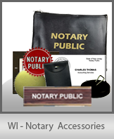 WI - Notary Accessories