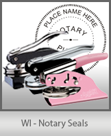 WI - Notary Seals