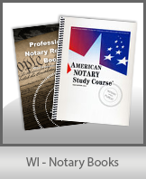 WI - Notary Books