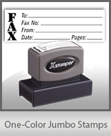 One-Color Jumbo Stamps