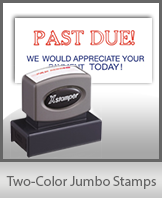 Two-Color Jumbo Stamps