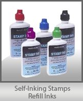 SELF-INKING Stamps Refill Ink