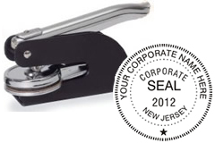 Corporate Pocket Seal, Corporate Seal, Corporate Embosser