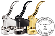 Attorney Desk Seal<br>Designer