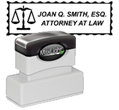 XL-185-SCALES - XL-185 Pre-Inked Attorney Stamp Scales