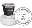 XL-535 - Attorney Stamp Pre-Inked