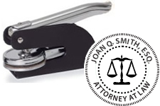 Attorney Pocket Seal Scales