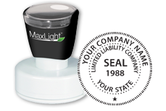 LLC Seal Stamp, LLC Stamp, Limited Liability Stamp