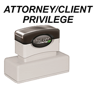 Order your Attorney Custom and Stock Stamps Today and Save. Fast Shipping