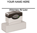 Order your Attorney Stamps today and save. Custom and Stock Stamps.