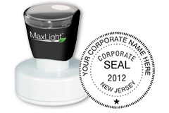 Order your Corporate Stamps and Seals Today and Save. Customized with company name, state and year organized. Low Prices