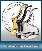 This quality, affordable hand-held notary seal for Washington, D.C. can be purchased right here.