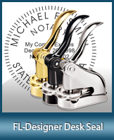 This quality, affordable hand-held notary seal for Florida can be purchased right here.