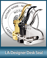 This quality, affordable hand-held notary seal for Louisiana can be purchased right here.