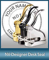 This quality, affordable hand-held notary seal for Nevada can be purchased right here.