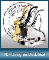 This quality, affordable hand-held notary seal for New Jersey can be purchased right here.