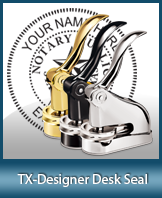This quality, affordable hand-held notary seal for Texas can be purchased right here.