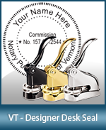 This quality, affordable hand-held notary seal for Vermont can be purchased right here.