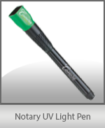 Make sure the license you're checking is not a fake with this Notary UV Light Pen. Also guards against counterfeit currency!