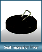 This seal impression inker is a must for notaries who's state requires a reproducible image of the notary seal. Also doubles as a notary fingerprinter.