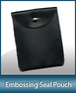 Worn or torn notary seal pouch, order a new one today. Fast Shipping