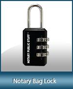 LOCK-COMB - Combination Lock for Supplies Bag