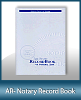 This Arkansas Notary Record Book, also known as a Notary Journal is an essential product for all notaries.