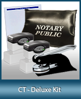 The highest-quality arrangement of money-saving notary supplies for Connecticut. FAST delivery!