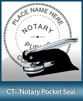 This Connecticut notary seal is made to last. This quality, affordable notary embosser can be purchased right here.