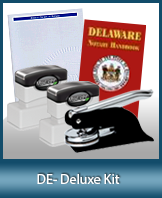 The highest-quality arrangement of money-saving notary supplies for Delaware. FAST delivery!
