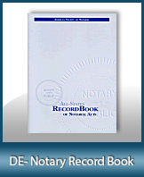 This Delaware Notary Record Book, also known as a Notary Journal is an essential product for all notaries.