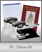 The highest-quality arrangement of money-saving notary supplies for Washington DC. FAST delivery!