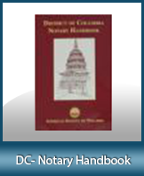 DC-HBK - Washington D.C. Notary Handbook