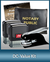 A money-saving arrangement of notary supplies for Washington D.C. Fast Delivery!