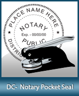 This Washington DC notary seal is made to last. This quality, affordable notary embosser can be purchased right here.