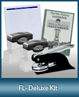 The highest-quality arrangement of money-saving notary supplies for Florida. FAST delivery!